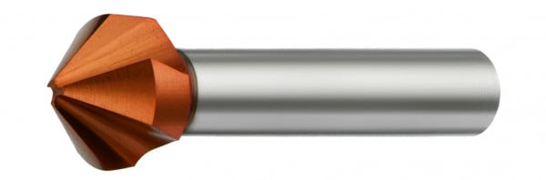 HSSE-Kegelsenker 90° mit ungleicher Teilung