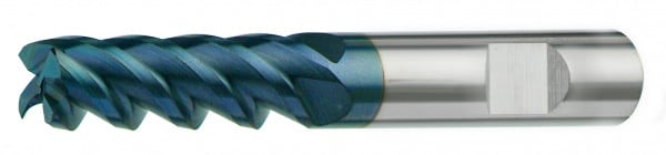 VHM-Universal-Schaftfräser 45° extra lang